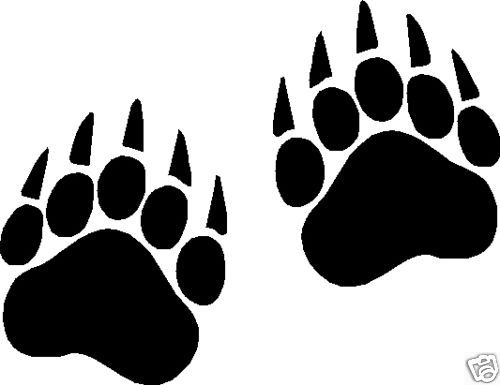 Free clipart bear paw print. Download clip art on