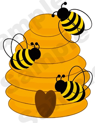 Free clipart bee hive. Download best on clipartmag