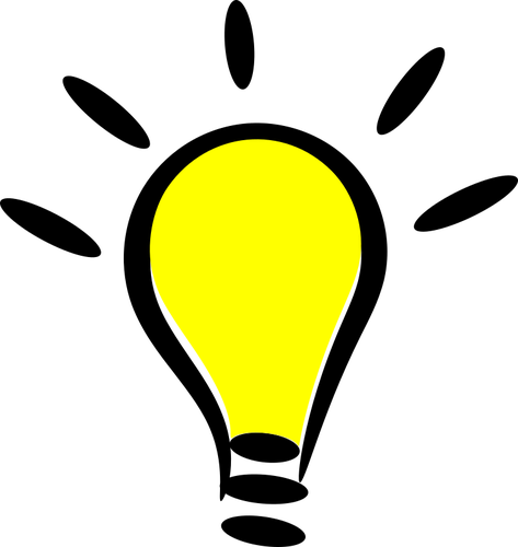 Free clipart big lightbulb in small lamp graphic stock 909 light bulb clip art image free | Public domain vectors graphic stock