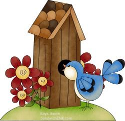 Free clipart bird houses picture royalty free stock BIRDHOUSE AND BIRD * | CLIP ART - BIRDS & BIRDHOUSES - CLIPART ... picture royalty free stock