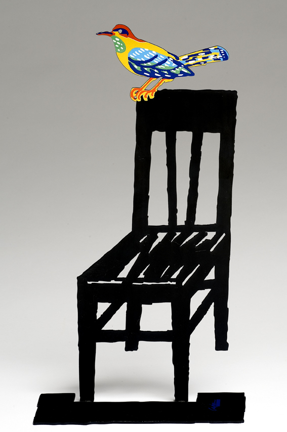Free clipart bird sitting on empty chair picture freeuse David Gerstein Empty Chair Birds Sculpture picture freeuse