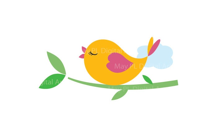 Free clipart birds on a branch graphic royalty free library Cute Bird Clipart Love Birds On A Branch Commercial Use - Free Clipart graphic royalty free library