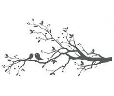 Free clipart birds on a branch clip free tree with birds clipart free | Love Birds On Branch X image - vector ... clip free