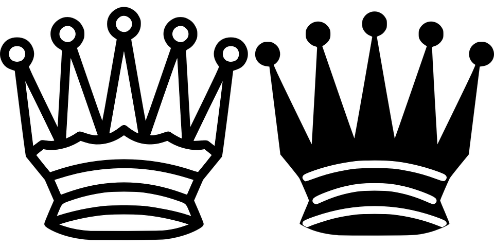 Free clipart black and white crown image free Black And White Crown#4317885 - Shop of Clipart Library image free
