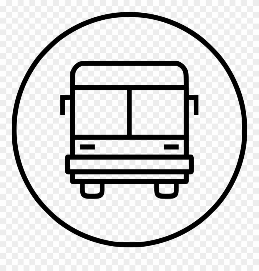 Bus line clipart picture library download Bus Vehicle Public Transport Transportation Travel - Bus Clipart ... picture library download