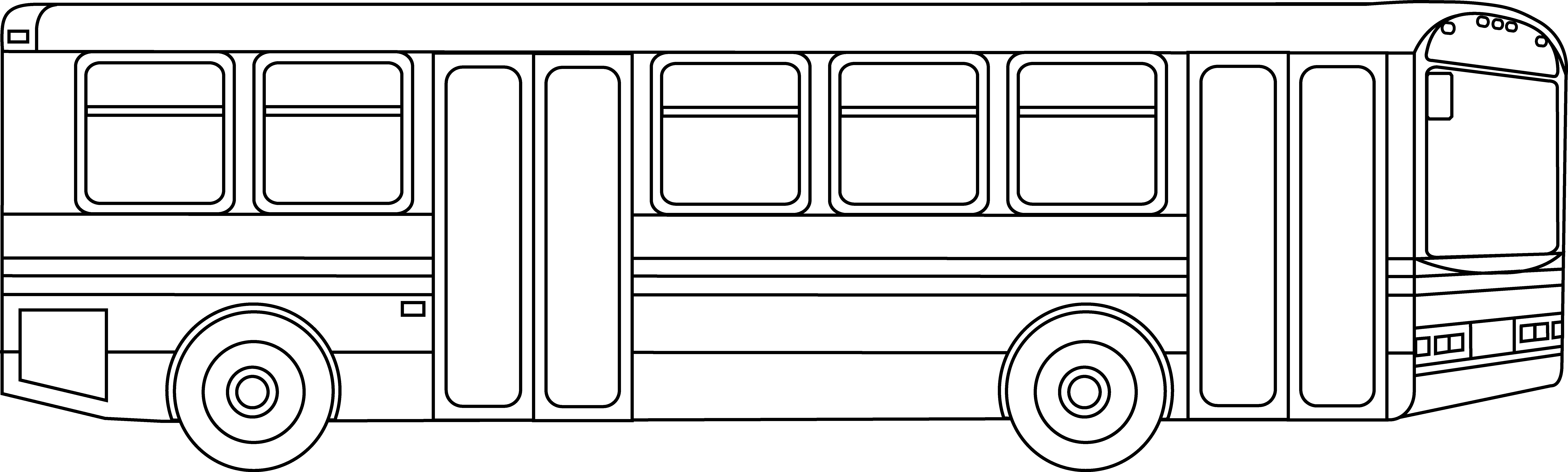 Free clipart black and white data transit clip black and white Download Free png Free Bus Outline, Download Free Clip Art, Free ... clip black and white