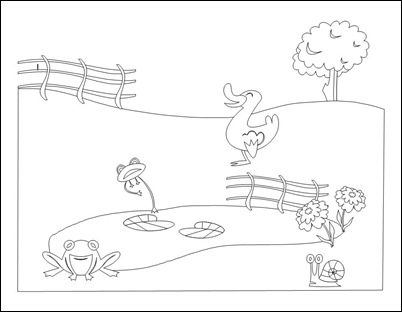 Free clipart black and white play farming. Farm scene cliparts download