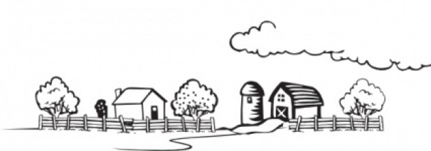 Free clipart black and white play farming picture transparent stock Free Farm Scene Cliparts, Download Free Clip Art, Free Clip Art on ... picture transparent stock