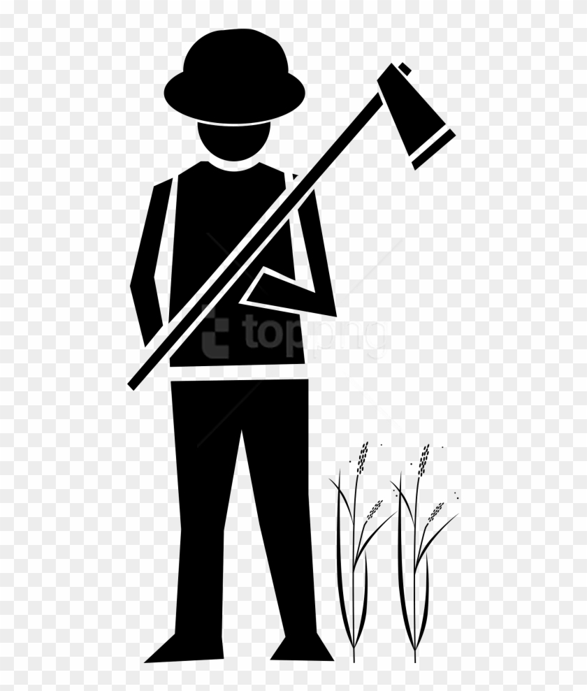 Png farmer images transparent. Free clipart black and white play farming