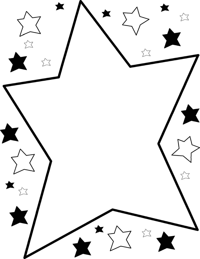 Download best on clipartmag. Free clipart black and white stars and planets