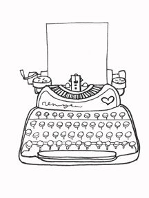 Free clipart black and white typewriter with paper clip free stock Free Typewriter Cliparts, Download Free Clip Art, Free Clip Art on ... clip free stock