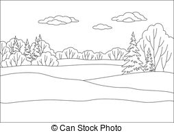 Free clipart black and white wooded areas clip art library stock Forest Illustrations and Clip Art. 318,187 Forest royalty free ... clip art library stock