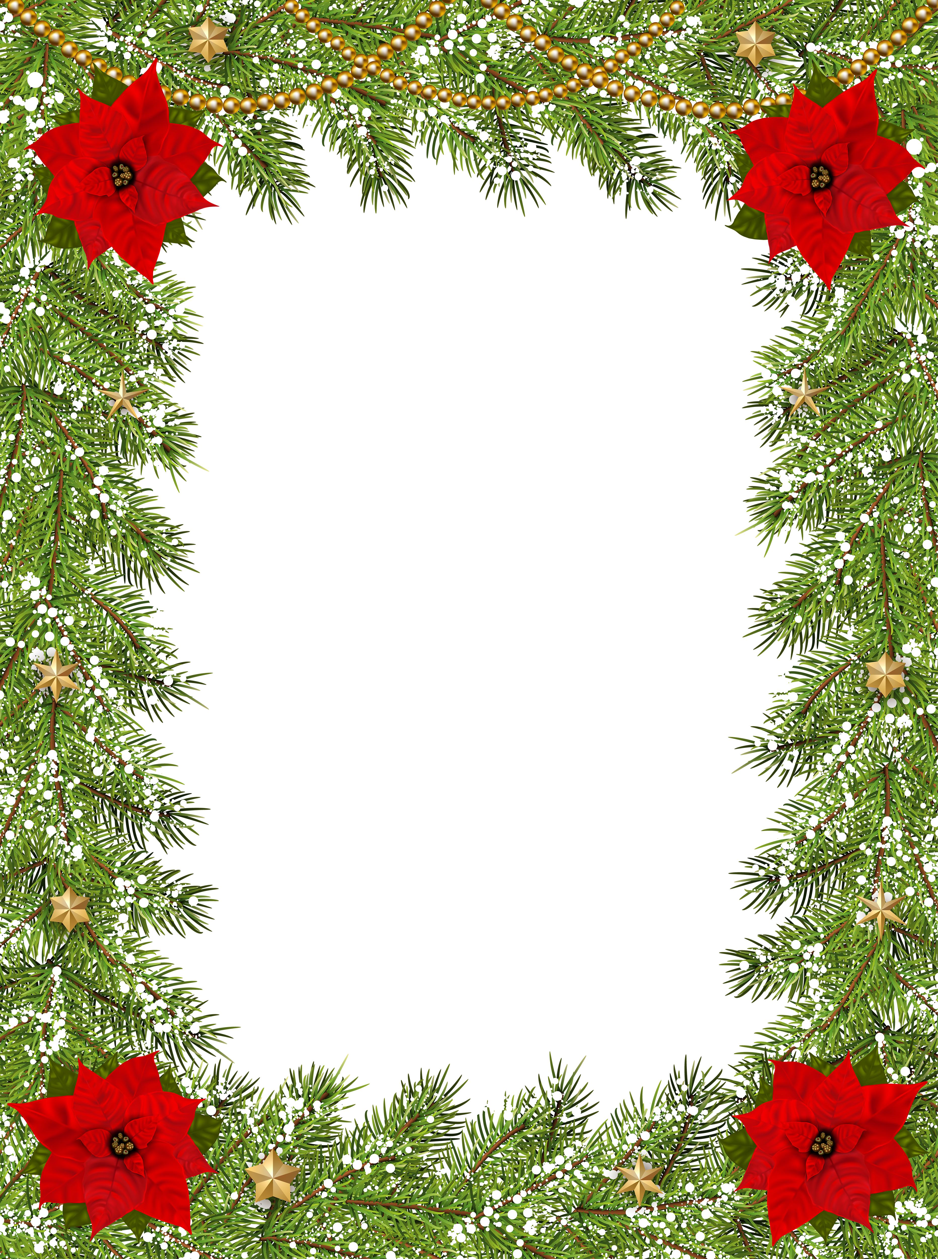 Free clipart blue landscape christmas frames and borders vector library stock Transparent Christmas Border Frame | Gallery Yopriceville - High ... vector library stock