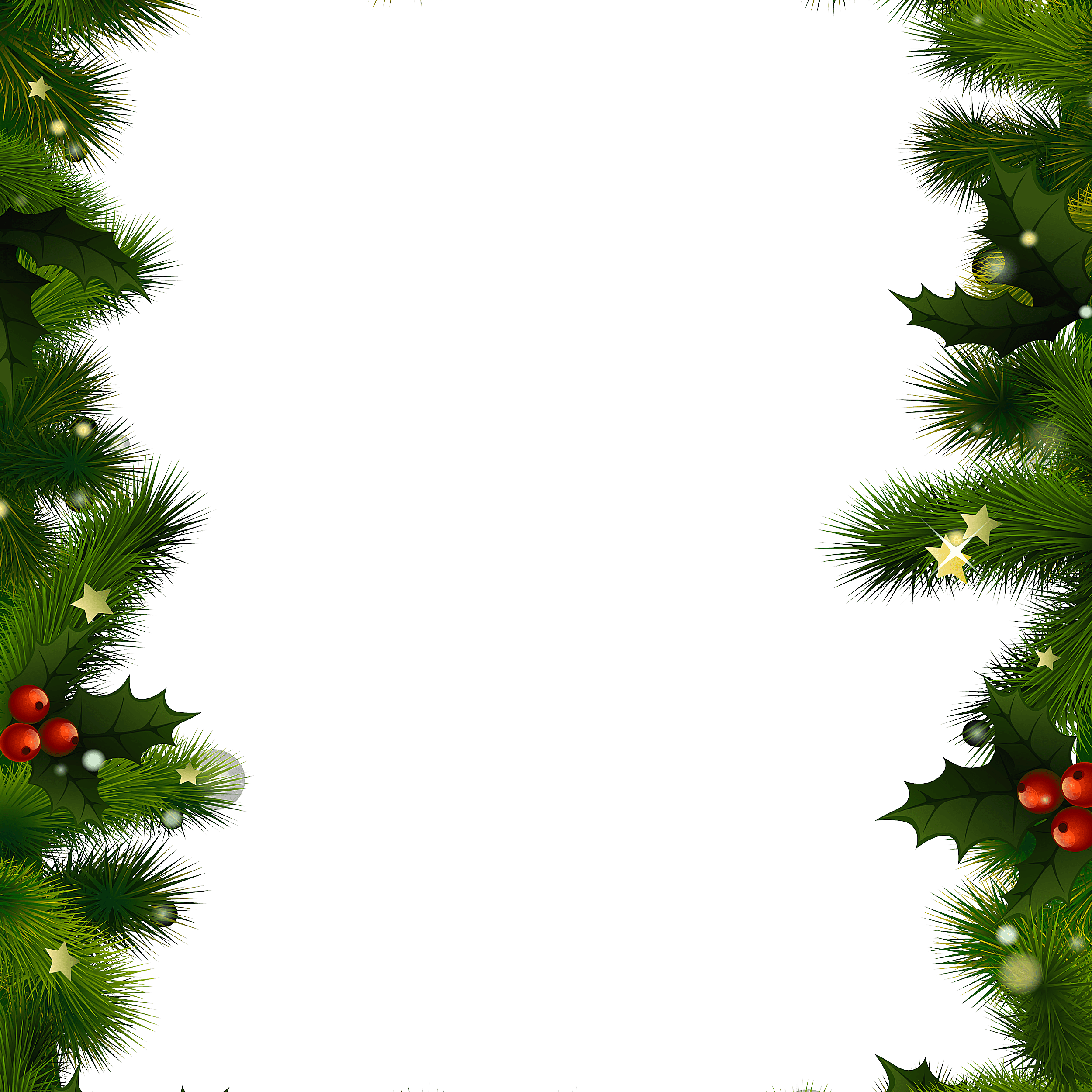 Word clipart christmas borders
