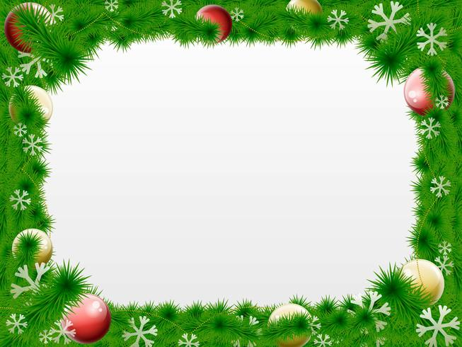 Free clipart blue landscape christmas frames and borders png free stock Christmas Wreath Vector Border - Download Free Vector Art, Stock ... png free stock