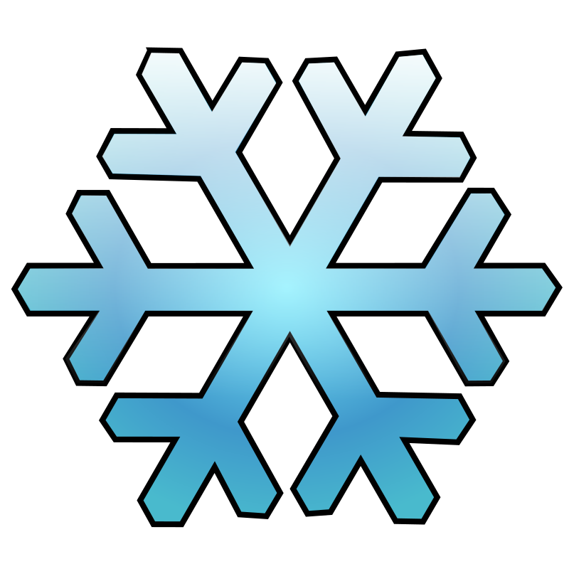 Snowflake clipart simple image royalty free library Clipart - Snowflake image royalty free library
