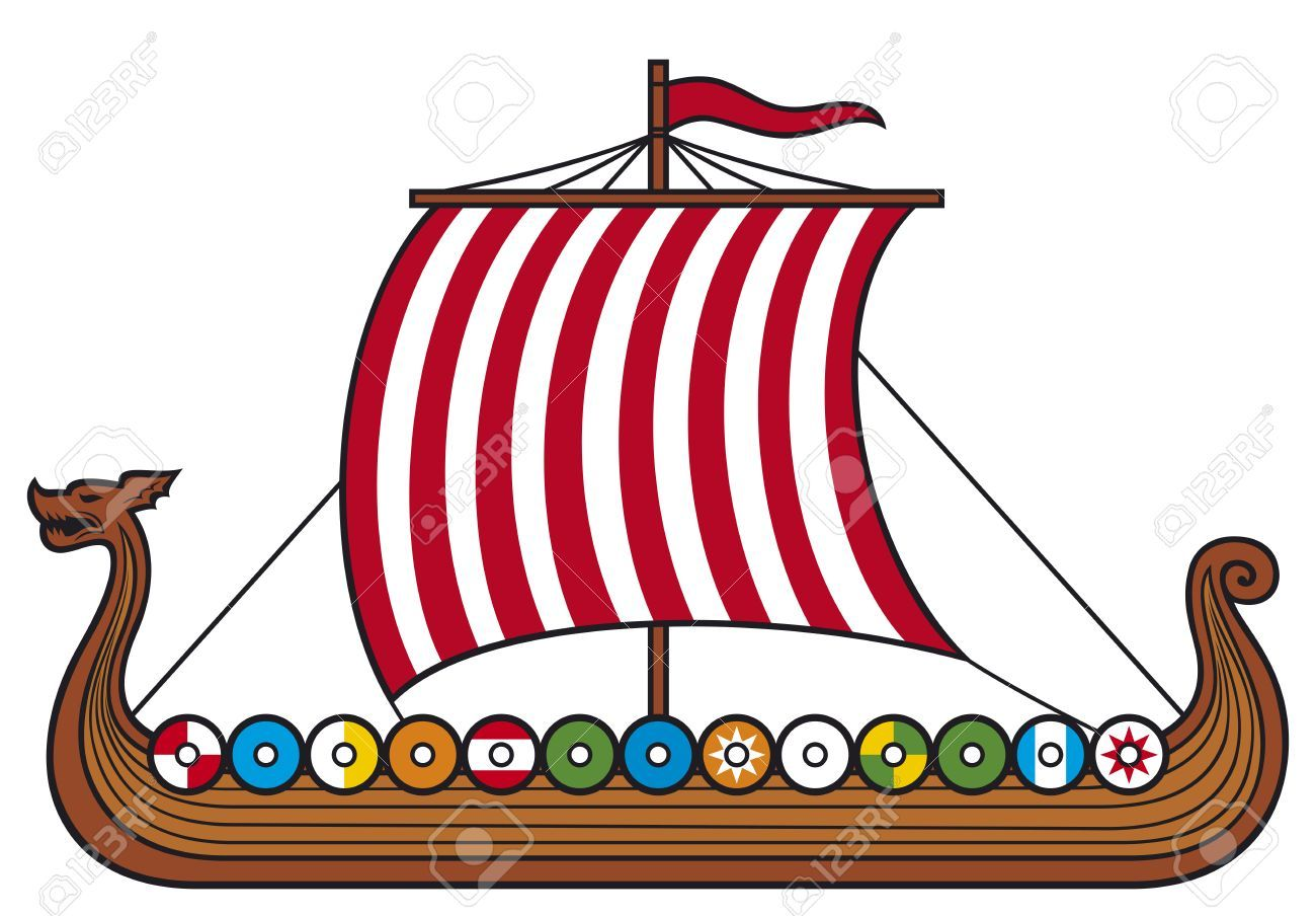Free clipart boat horn clip royalty free stock Viking ship (viking boat, viking long ship)   How to Train Your ... clip royalty free stock