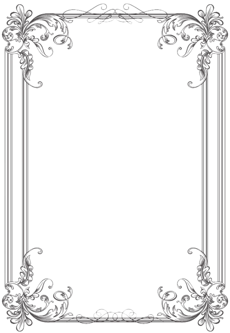 Wedding invitation cross clipart png library frame and border clipart free books borders and frames blue frame ... png library