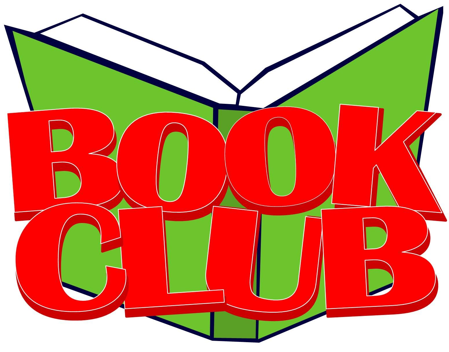 Free clipart book club