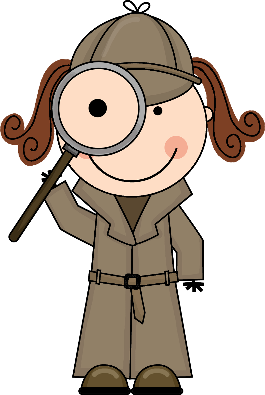 House clipart free magnifying glass