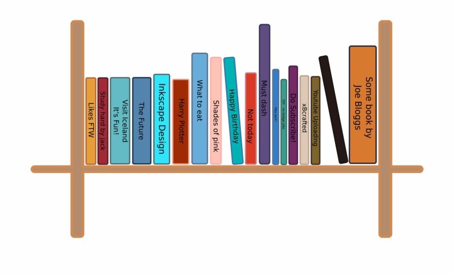 Free clipart bookshelf svg freeuse download Bookshelf Png Pic - Books On Shelf Clipart Free PNG Images & Clipart ... svg freeuse download