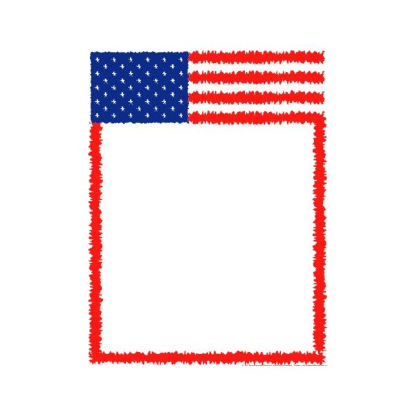 Free clipart border images of flag for labor day. Download clip art on