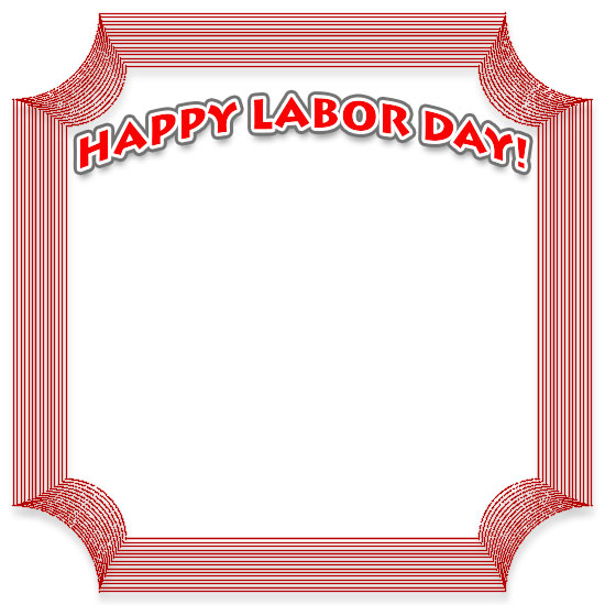 Borders . Free clipart border images of flag for labor day