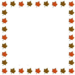 Free clipart borders autumn banner free library Fall Leaves Border Clipart | Clipart Panda - Free Clipart Images banner free library