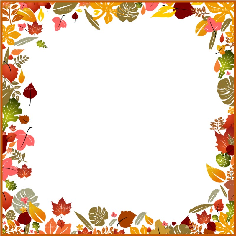 Free clipart borders autumn jpg black and white stock 92+ Free Fall Clip Art Borders | ClipartLook jpg black and white stock