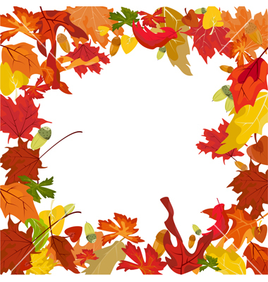 Fall download clip art. Free clipart borders autumn