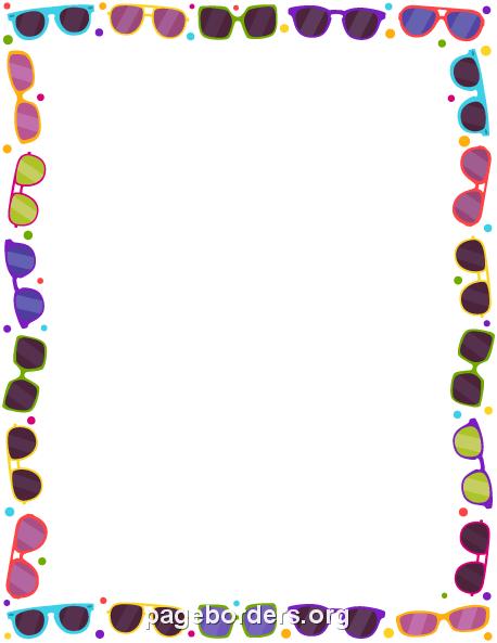 Free clipart borders summer. Cliparts download clip art