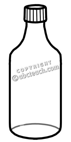 Bottle clipart black and white graphic stock Water Bottle Clipart | Clipart Panda - Free Clipart Images graphic stock