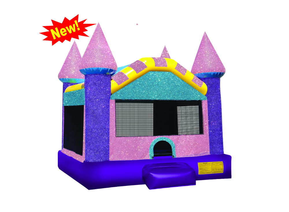 Free clipart bounce house png free Dazzling Castle XL 15x15 Bounce House - Bounce The Rock png free
