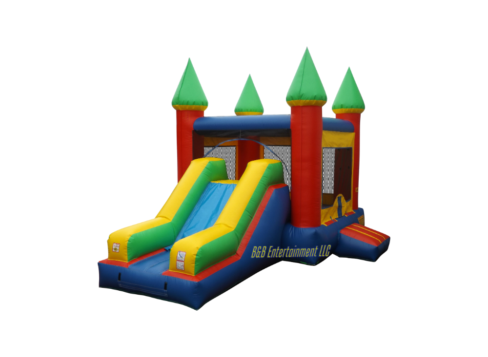 Free clipart bounce house clipart freeuse Camelot Castle XL 15x15 Bounce House - Bounce The Rock clipart freeuse