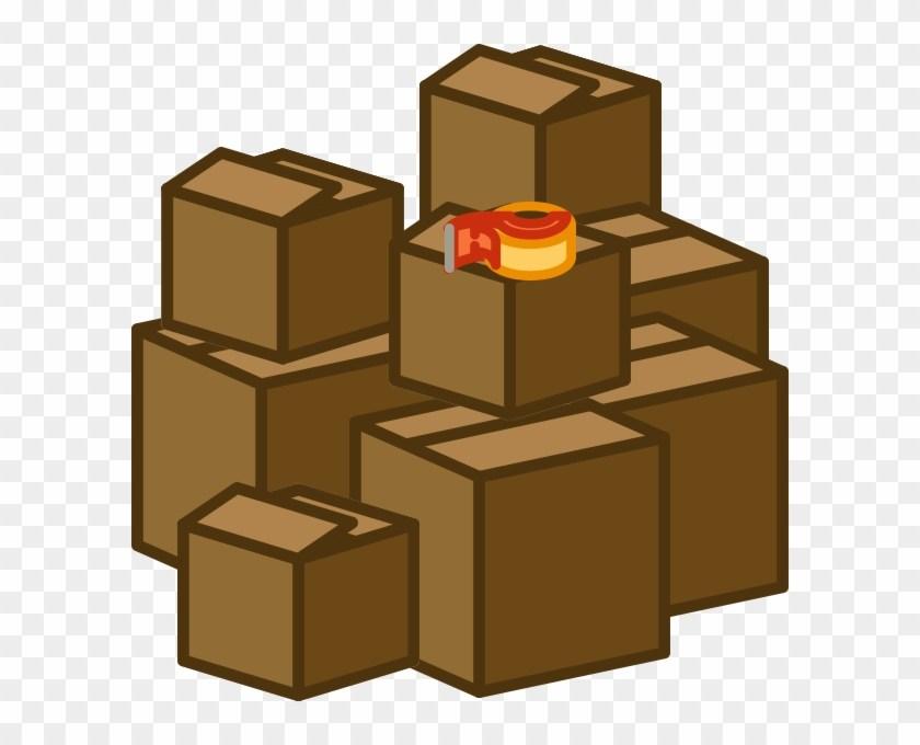 Boxes portal . Free clipart box
