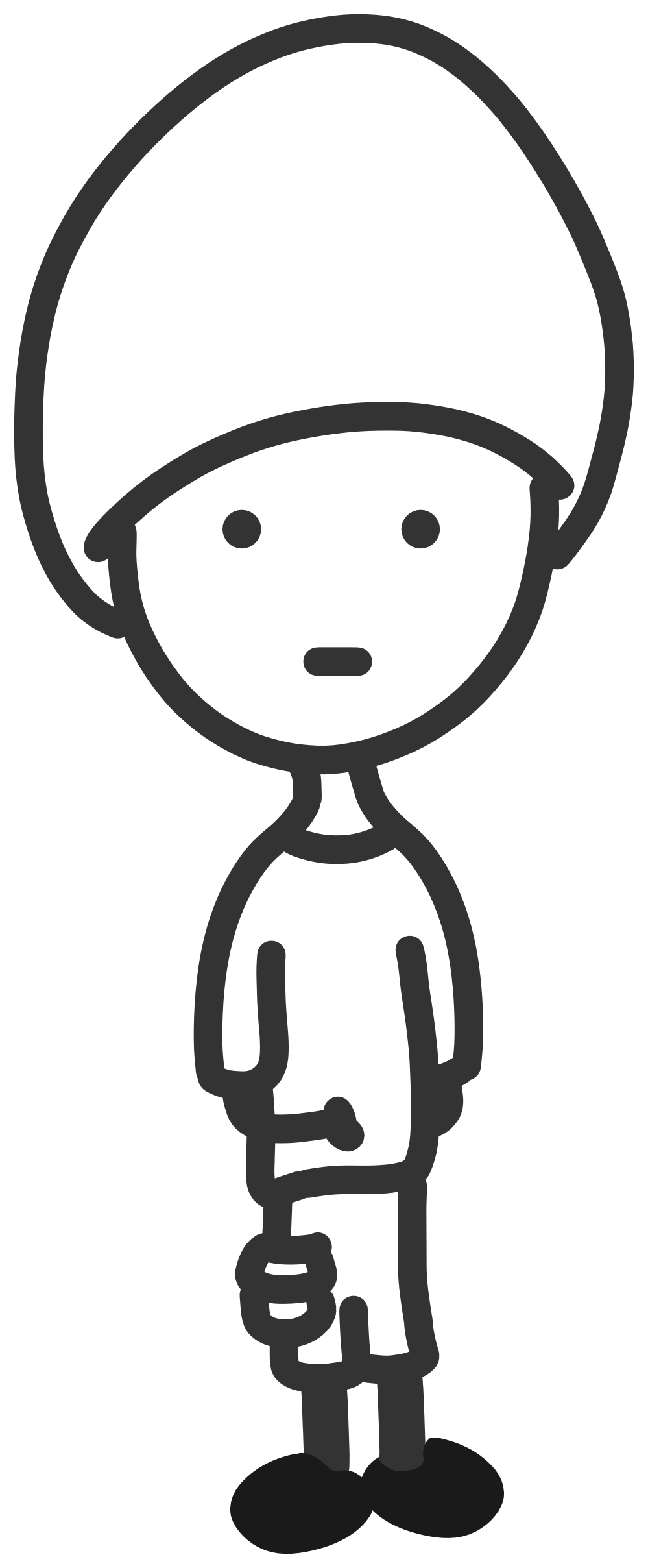 Free clipart boy drawing thoughts black and white clip art library download Boy clip art black and white | Clipart Panda - Free Clipart Images clip art library download