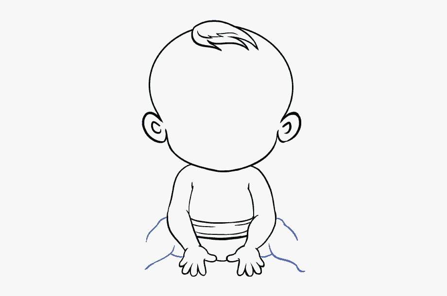 Free clipart boy drawing thoughts black and white clip royalty free How To Draw Baby - Cartoon Easy Drawings Of Boy #1297874 - Free ... clip royalty free
