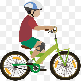 Free clipart boy riding bike with mom. Bicycle png transparent