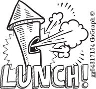 On break clipart clipart library stock Lunch Break Clip Art - Royalty Free - GoGraph clipart library stock