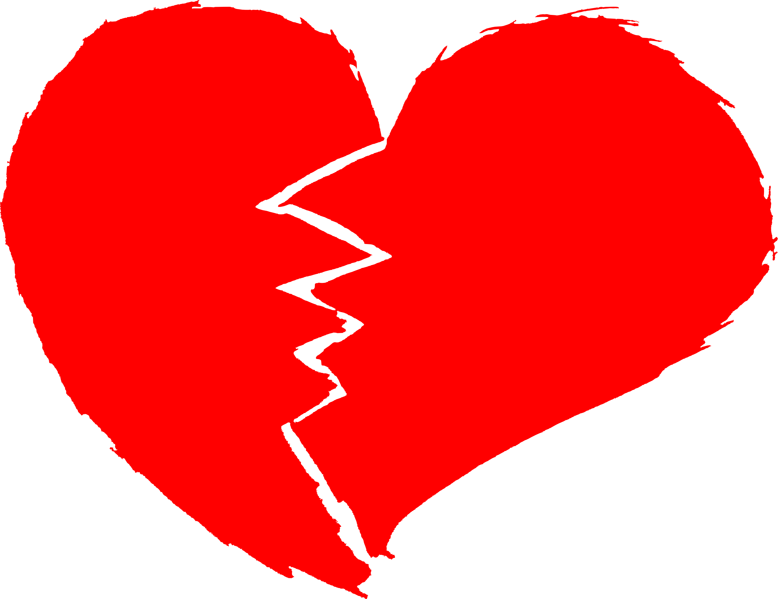 Free clipart broken heart image library library Broken Heart (PNG Transparent) | OnlyGFX.com image library library