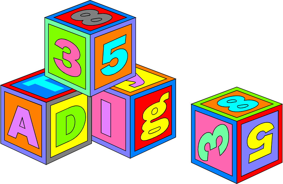 Free clipart building blocks clipart stock Free Stock Photo: Illustration of colorful toy blocks | Transparent ... clipart stock
