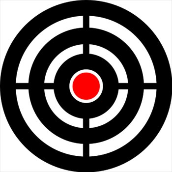 Bullseye clipart free png royalty free library Target Clip Art Bullseye | Clipart Panda - Free Clipart Images png royalty free library
