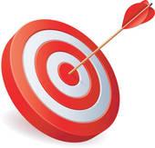 Free clipart bullseye