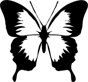 Free clipart butterfly images jpg royalty free download Butterfly Clipart Black And White | Clipart Panda - Free Clipart ... jpg royalty free download
