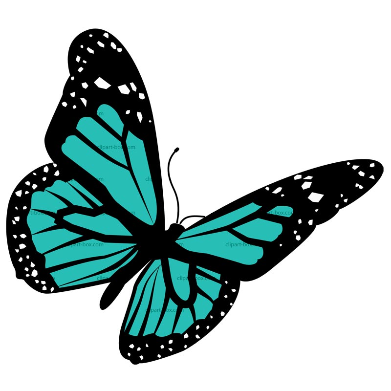 Free clipart butterfly images png black and white download CLIPART BUTTERFLY | Royalty free vector design png black and white download