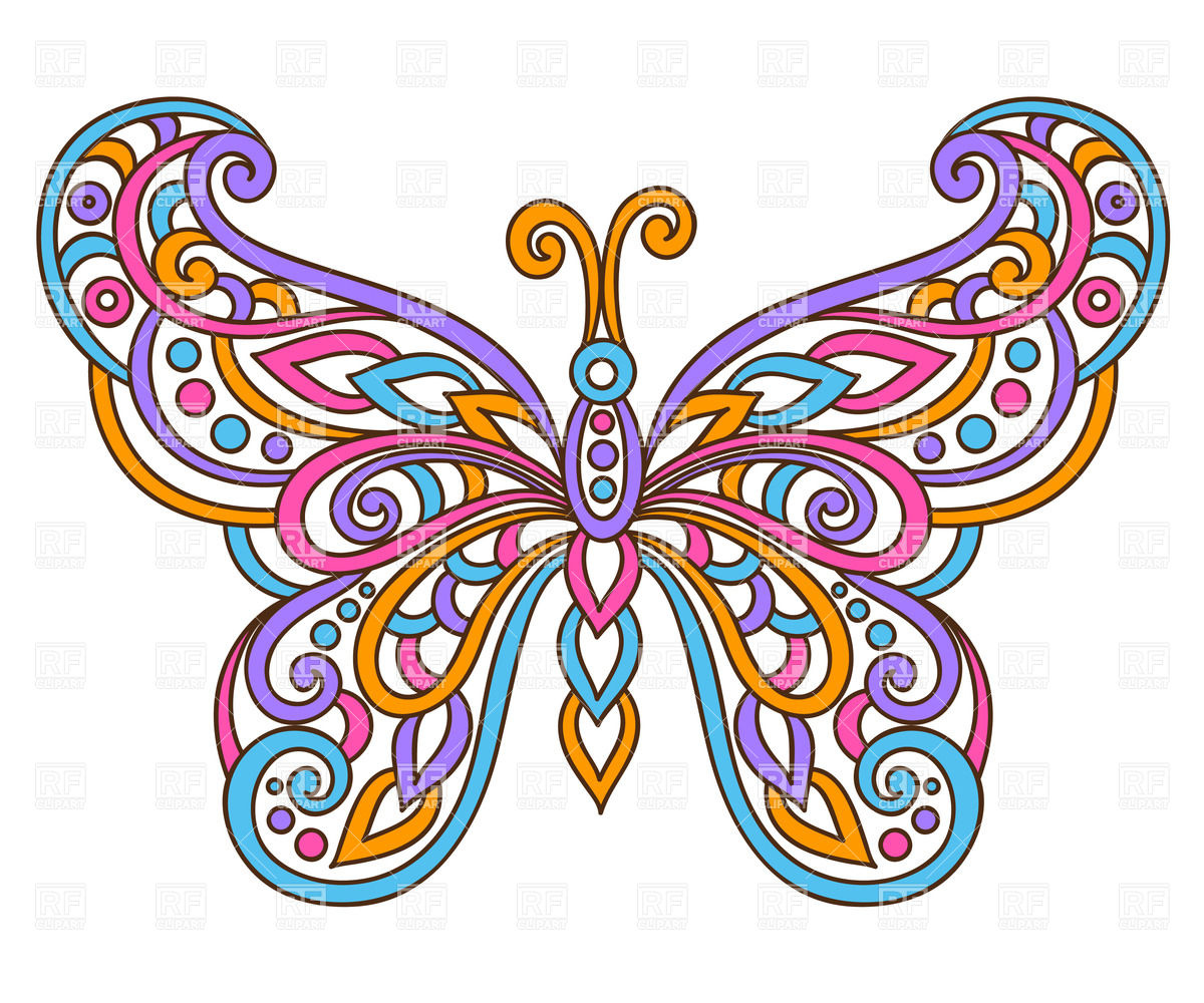 Free clipart butterfly images graphic free library Butterfly clip art vector free - ClipartFest graphic free library