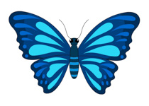 Free clipart butterfly images clip black and white library Free Butterfly Clipart - Clip Art Pictures - Graphics - Illustrations clip black and white library