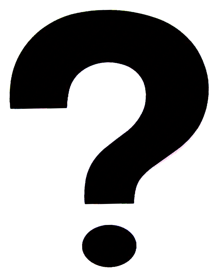 Free clipart b&w symbols question mark jpg freeuse Question Mark Clipart Black jpg freeuse