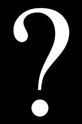 Free clipart b&w symbols question mark clipart Question Mark Journal Punctuation and Symbols Series: Golding ... clipart