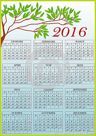 Free clipart calendar 2016 svg transparent library Free clipart calendar 2016 - ClipartFest svg transparent library